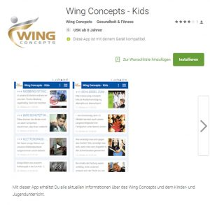 Wing Concepts Kids - App