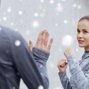 Weihnachtstraining - Feier - Selbstverteidigung - Kampfsport