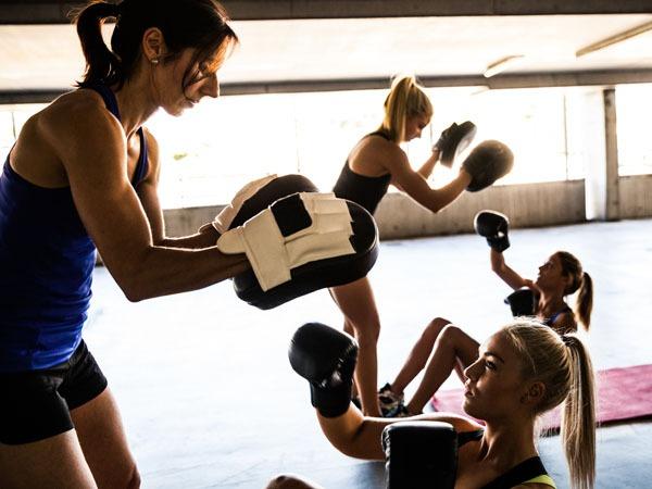 Kampfsport - intensives Ausdauertraining - Fitness - Sport - Kiel